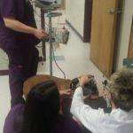 Physical exam including blood pressure monitoring & eye exam